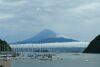 豪雨明けの夏の富士山